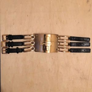 Vintage Givenchy Buckle Bracelet